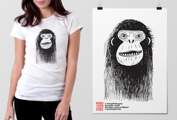 hrg100zvirat_poster+shirt